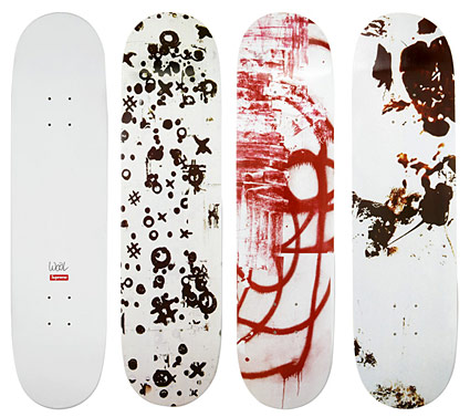christopher-wool-supreme-skateboard-decks